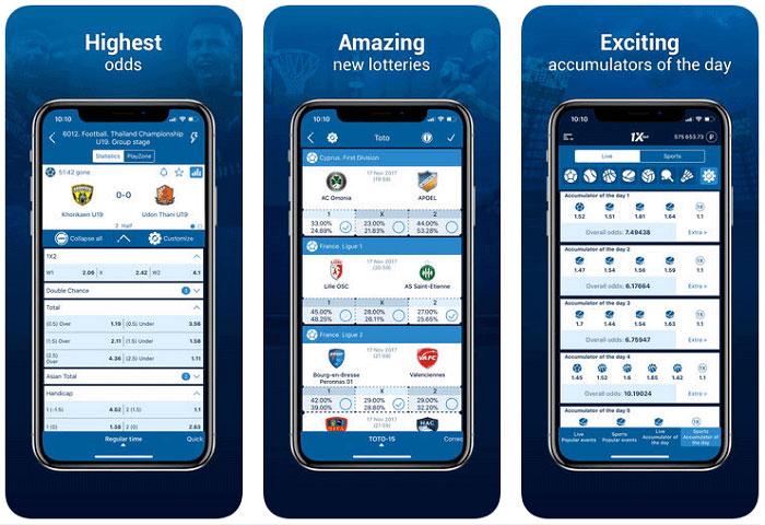 Apuestas 1xbet Bono México Aplicación App Móvil iOS Android