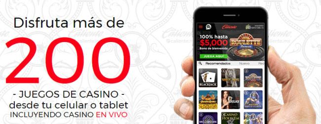 Apuestas Caliente Mexico Bono Bienvenida Aplicacion Movil