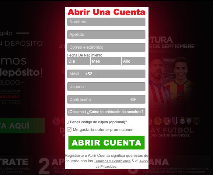 Apuestas Caliente Mexico Bono Registro