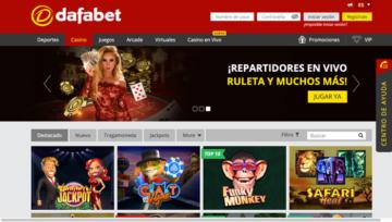 casino online de Dafabet México crupier juegos