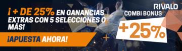 Apuestas Rivalo Bono México Apuestas Cruzadas Exchange