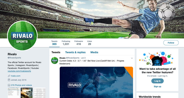 Apuestas Rivalo Bono México Twitter
