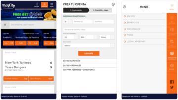 Apuestas Playcity Mexico Bono Aplicación Móvil App