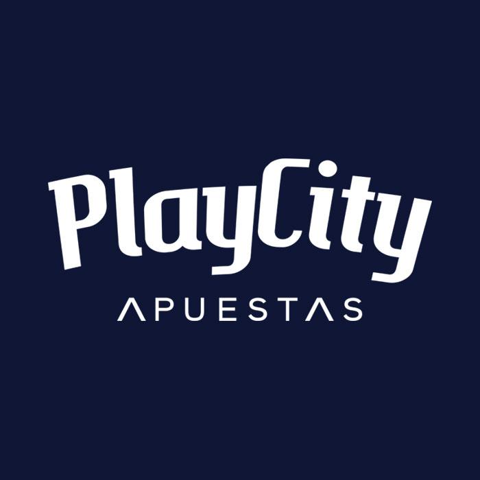 Play City Apuestas Logo Azul