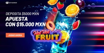 Bono de bienvenida casino online betwarrior coctel frutas