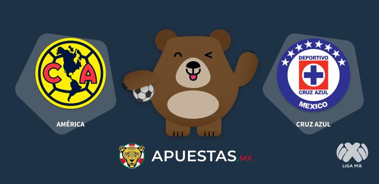 Pronóstico América Cruz Azul Liga MX 27-09-2020