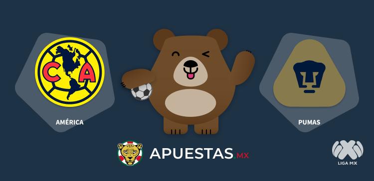 Pronóstico América Pumas Liga MX 03-10-2020