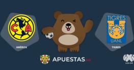 Pronostico America Tigres Liga MX 01-11-2020