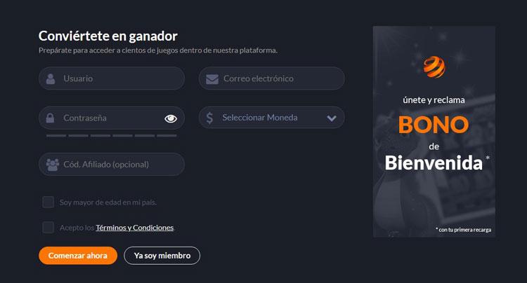 Apuestas Juegaenlinea Mexico Bono Registro