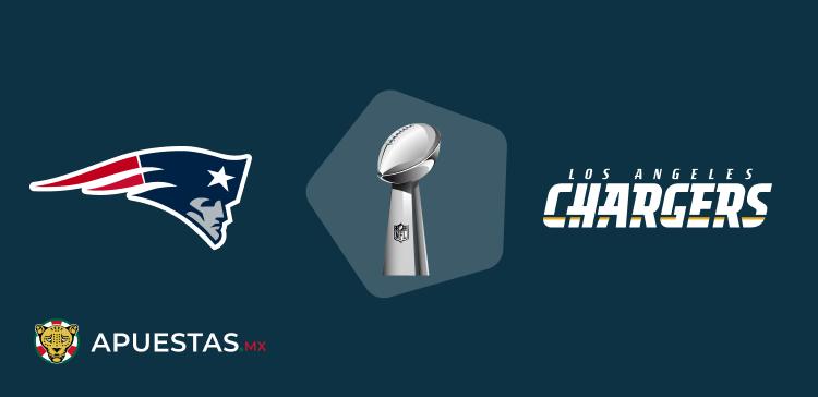 Patriots vs Chargers pronósitico deportivo mex