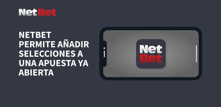 Apuestas abiertas con NetBet México celular gris