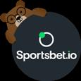 logo redondo para Sportsbet.io con Betto