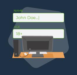 darse de alta con un operador en línea