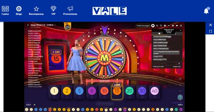 slider 3 fortune wheel casino en vivo