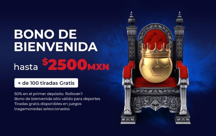 bono de bienvenida de London Betting Shop México